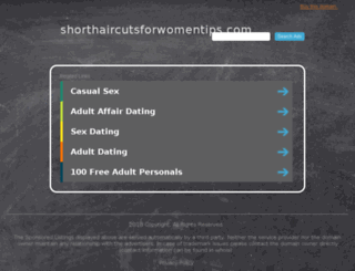 shorthaircutsforwomentips.com screenshot