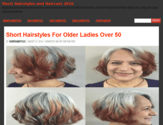 shorthairstyles-haircuts.com screenshot
