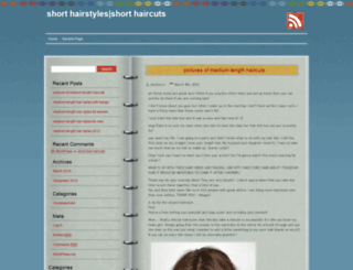 shorthairstyles9.com screenshot