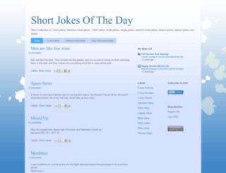 shortjokesoftheday.blogspot.com screenshot