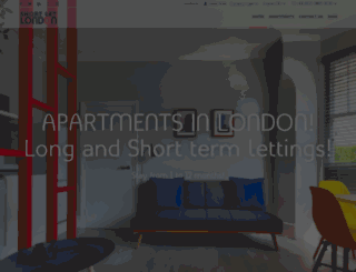 shortlet-london.com screenshot