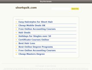 shortquik.com screenshot