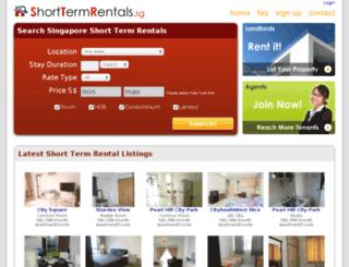 shorttermrentals.sg screenshot