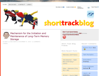 shorttrackblog.com screenshot