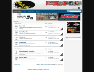 shorttrackthunder.com screenshot