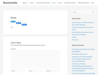 shortymedia.co.uk screenshot