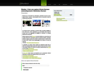 shotbot.fr screenshot