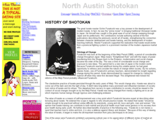 shotokan.natkd.com screenshot