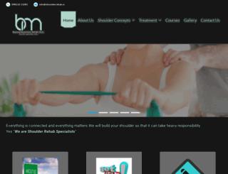 shoulderrehab.in screenshot