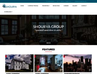 shouryagroup.com screenshot