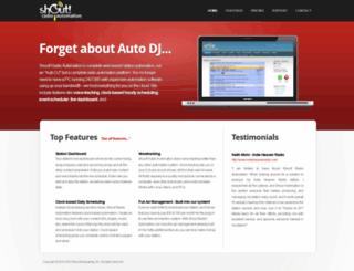 shoutautomation.com screenshot