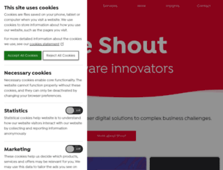 shoutdigital.com screenshot