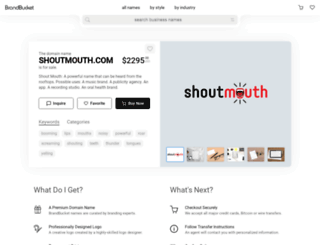 shoutmouth.com screenshot