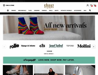 shouz.com.au screenshot