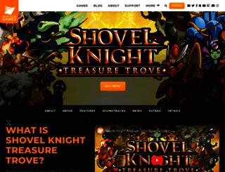 shovelknight.com screenshot