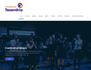 showbandtaxandria.nl screenshot