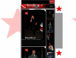 showbizireland.com screenshot