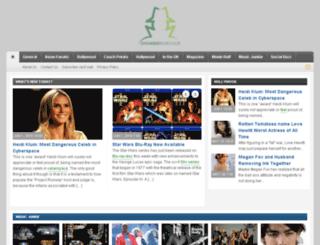 showbizrenegade.com screenshot