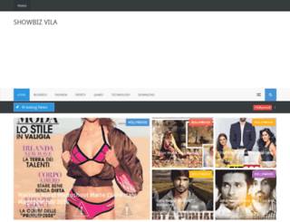 showbizvila.blogspot.com screenshot