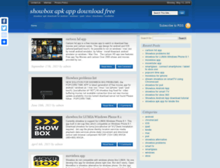 showboxapp.net screenshot