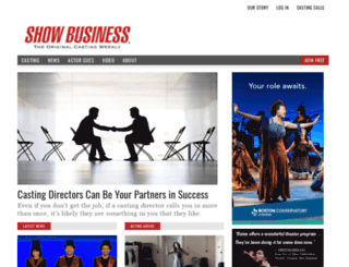 showbusinessweekly.com screenshot