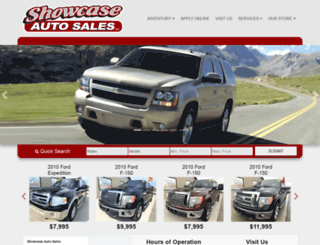 showcaseautosalesllc.com screenshot