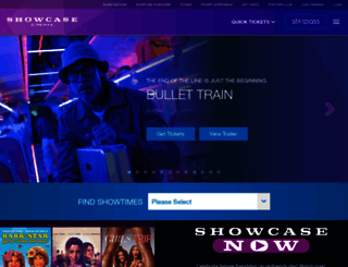 showcasecinemas.com screenshot