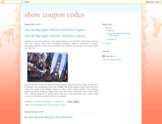 showcouponcodes.blogspot.com screenshot
