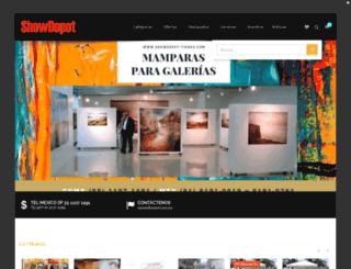 showdepot.com.mx screenshot