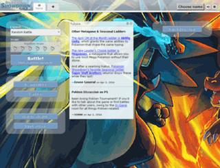 showdown.pokemoncentral.it screenshot
