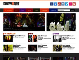 showeart.com.br screenshot