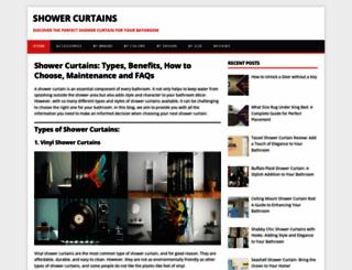 shower-curtains.org screenshot