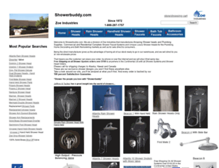 showerbuddy.com screenshot