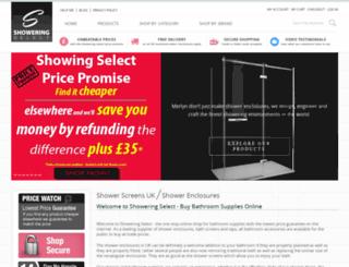 showeringselect.com screenshot