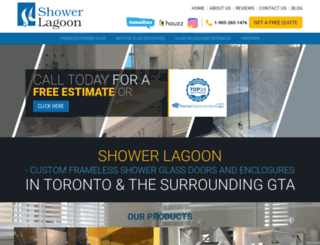 showerlagoon.com screenshot