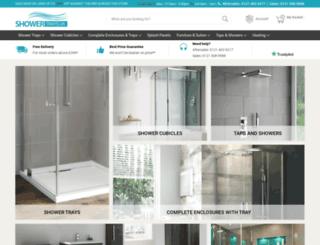 showertraysuk.co.uk screenshot