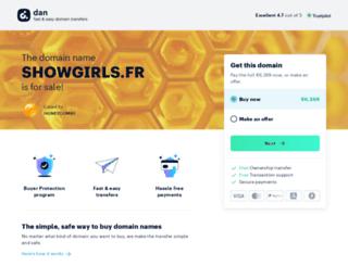 showgirls.fr screenshot