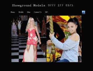 showgroundmodels.co.uk screenshot