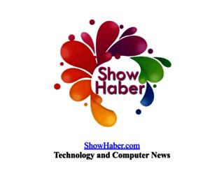 showhaber.com screenshot
