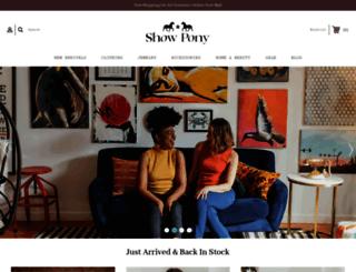 showponyboutique.com screenshot