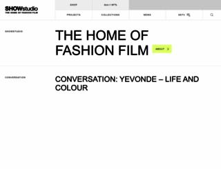 showstudio.com screenshot