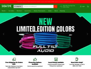 showtimeelectronics.com screenshot