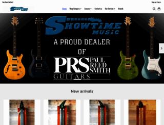 showtimemusiconline.com screenshot