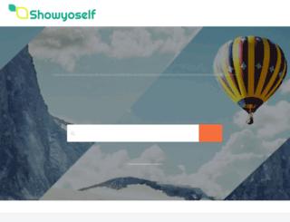 showyoself.com screenshot