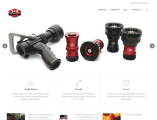 shproductsinc.com screenshot