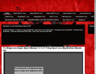 shqiptvlive.net screenshot