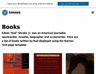 shrakedemo.wordpress.com screenshot