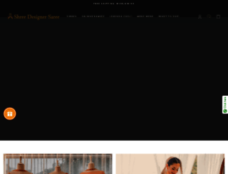 shreedesignersaree.com screenshot