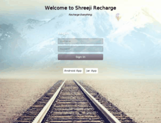 shreejirecharge.net screenshot