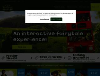 shreksadventure.com screenshot